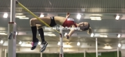 11.02.2017. EIS, Sheffield, England. The British Athletics Indoor team trials 2017. Laura Armorgie competes in the Womans High jump final.