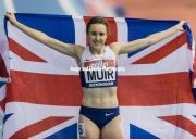 Laura Muir sets new british record in Birmingham 18th Feb 2017