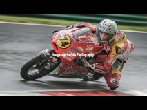 Motorbike racing at Cadwell Park, England